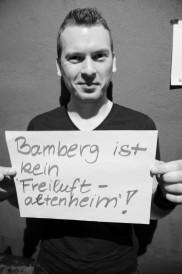 Bamberg ist kein Freiluftaltenheim